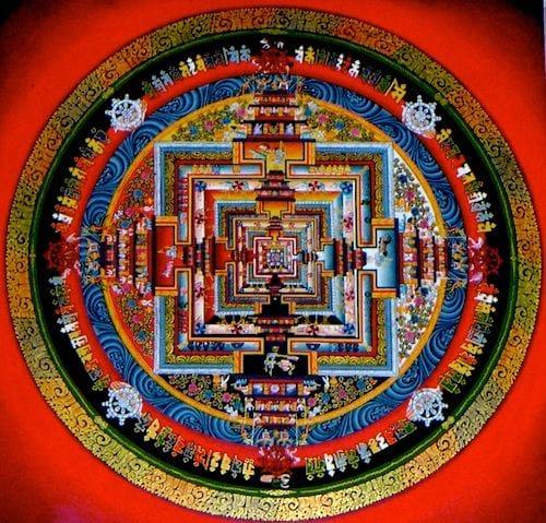 A Buddhist Mandala