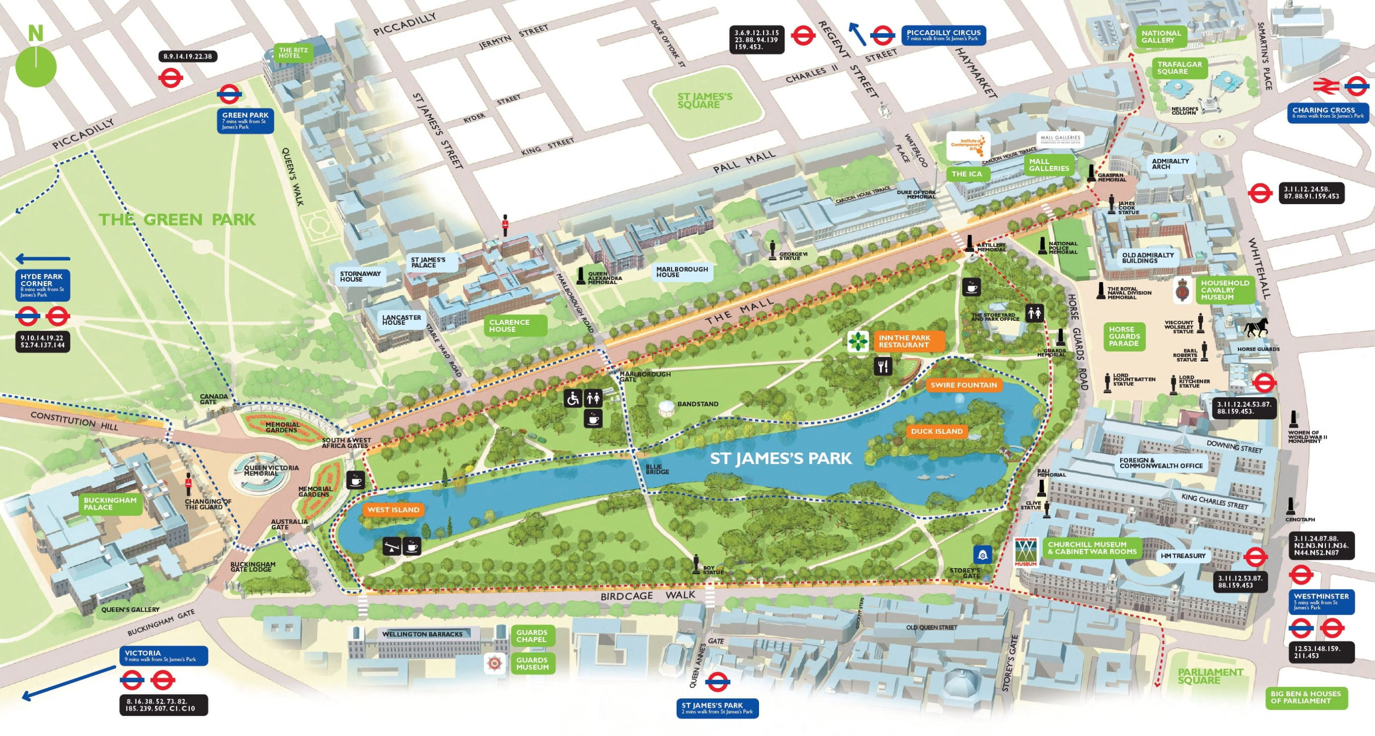 The Mall London Map.Get Ideas To Enhance Your Trip To The British City Of London