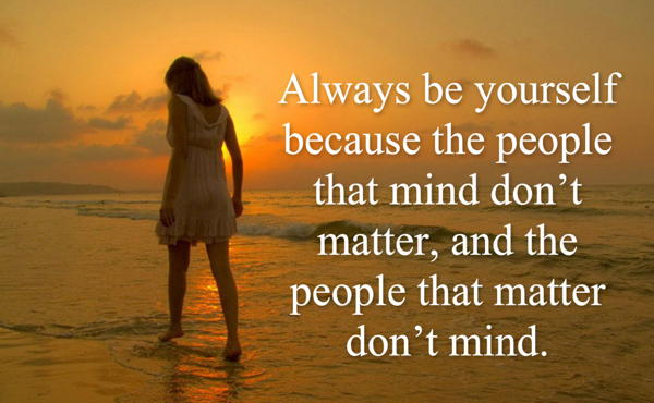 favorite inspiring quotes be yourself