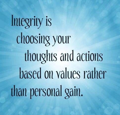 Integrity Quotes | Favorite Inspiring Quotes Be A Person Of Integrity
