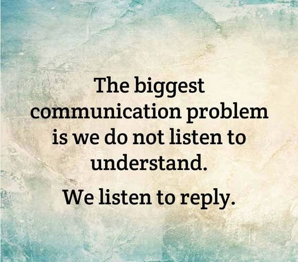 learn to listen quotes - photo #33