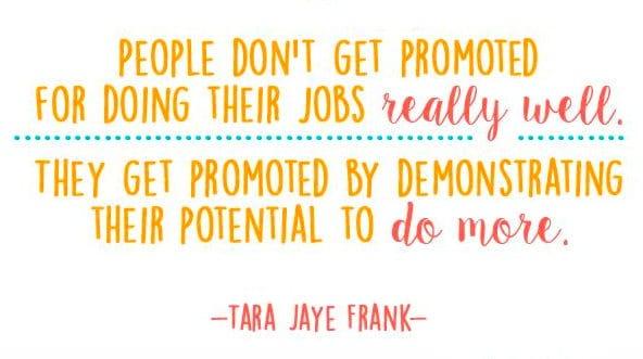 favorite inspiring quotes promotion at work
