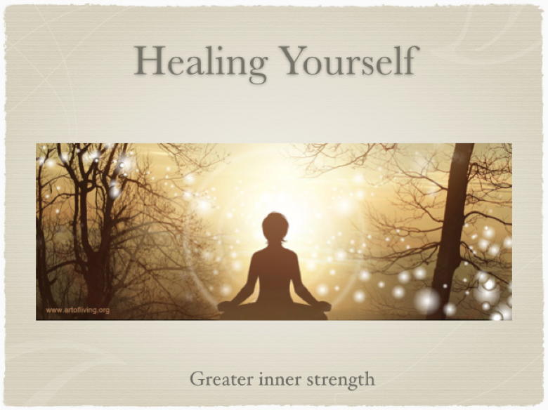 Healing Yourself