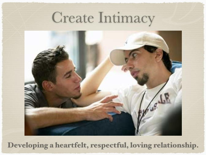 Intimacy in a relationship