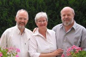 Wallace Huey, Nicole & Peter Shepherd